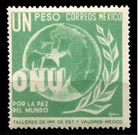 Image de Мексика 1946 г. SC# 816 • 1 p. • Создание ООН • MNH OG XF