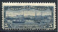 Image de Аргентина 1902 г. SC# 143 • 5c. • Корабли в речном порту Розарио • MLH OG VF