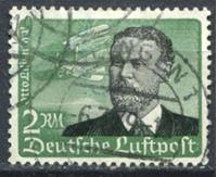 Picture of Германия 3-й рейх 1934 г. Mi# 538 • 2 M. • Отто Лилиенталь • авиапочта • Used VF ( кат.- €25 )
