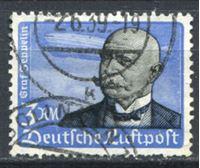 Picture of Германия 3-й рейх 1934 г. Mi# 539 • 3 M. • Граф Фердинанд фон Цеппелин • авиапочта • Used VF ( кат.- €55 )