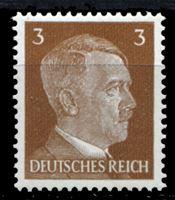 Изображение Германия 3-й рейх 1941-44 гг. Mi# 782 • 3 pf. • Адольф Гитлер • стандарт • MH OG XF ( кат.- €0,4 )