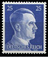 Изображение Германия 3-й рейх 1941-44 гг. Mi# 793 • 25 pf. • Адольф Гитлер • стандарт • MNH OG XF ( кат.- €0,5 )