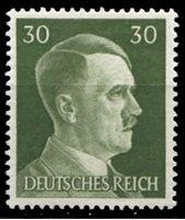 Изображение Германия 3-й рейх 1941-44 гг. Mi# 794 • 30 pf. • Адольф Гитлер • стандарт • MNH OG XF ( кат.- €0,5 )