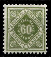 Изображение Вюртемберг 1921 г. Mi# 155 • 60 pf. • служебный выпуск • MH OG XF