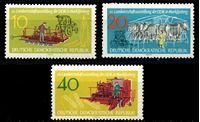 Изображение ГДР 1962 г. Mi# 895-7 • 10 - 40 pf. • Национальное сельское хозяйство • MLH OG XF • полн. серия ( кат.- €2,5 )