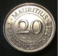 Bild von Маврикий 2012 г. KM# 53 • 20 центов • Сэр Сивусагур Рамгулам • регулярный выпуск • BU