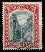 "Picture of Багамы 1911-19 гг. Gb# 75 • 1d. • ""Лестница королев"" • Used XF ( кат.- £3 )"