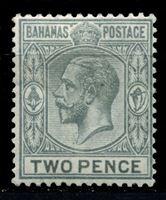 Picture of Багамы 1912-19 гг. Gb# 83 • 2d. • король Георг V • стандарт • MLH OG XF ( кат.- £2,5 )