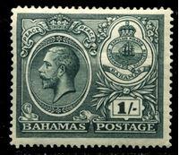 "Picture of Багамы 1920 г. Gb# 110 • 1sh. • ""Празднование мира"" • MLH OG XF ( кат.- £15 )"