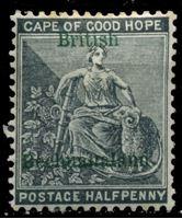 Picture of Бечуаналенд 1888 г. Gb# 30 • 1/2d. • надпечатка на марке Мыса Доброй Надежды • MH OG VF