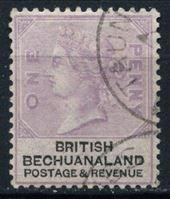 Picture of Бечуаналенд 1888 г. Gb# 10 • 1d. • королева Виктория • Used XF
