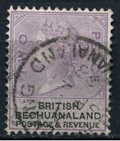 Picture of Бечуаналенд 1888 г. Gb# 11 • 2d. • королева Виктория • Used XF