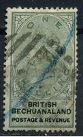Picture of Бечуаналенд 1888 г. Gb# 15 • 1sh. • королева Виктория • Used VF ( кат.- £9 )