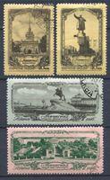 Bild von СССР 1953 г. Сол# 1735-8 • Ленинград (1-й выпуск) • Used(ФГ) VF • полн. серия