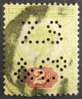 Изображение Великобритания 1902 г. Mi# 106 • 2 пенса • Король Эдуард Седьмой • Used VF ( кат.- €6 )
