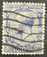 Изображение Великобритания 1912 г. Mi# 131 • 2 1/2 пенса • Король Георг Пятый • Used VF ( кат.- €2 )