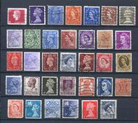 Изображение Британские колонии • Георг V - Елизавета II (лот 34 разные марки) • стандарт • Used VF
