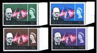 Picture of Святой Елены о-в 1966 г. Gb# 201-4 • Уинстон Черчилль • MNH OG XF • полн. серия