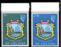 Picture of Святой Елены о-в 1967 г. Gb# 212-3 • Новая конституция • MNH OG XF • полн. серия