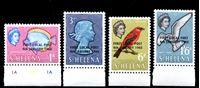 Picture of Святой Елены о-в 1965 г. Gb# 193-6 • Первая местная почта • MNH OG XF • полн. серия