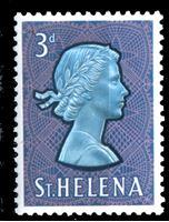 Picture of Святой Елены о-в 1961-65 гг. Gb# 179 • Елизавета II основной выпуск • 3d. • MNH OG XF