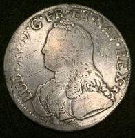Bild von Франция 1736 г. M (Тулуза) • KM# 486.13 • 1 экю • первый год чеканки (серебро) • Людовик XV • регулярный выпуск • F