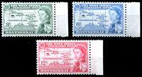 Picture of Монтсеррат 1958 г. Gb# 150-2 • Карибская Федерация • MNH OG XF+ • полн. серия