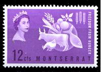 Bild von Монтсеррат 1963 г. Gb# 153 • Свобода от голода • 12c. • MNH OG XF
