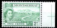 Picture of Монтсеррат 1953-62 гг. Gb# 138 • Елизавета II основной выпуск • 2c. • Плантация хлопка • MNH OG XF+