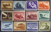 Image de Германия 3-й рейх 1944 г. Mi# 873-885 • День вермахта. День героев. Второй выпуск • MLH OG XF ( кат.- €18 )