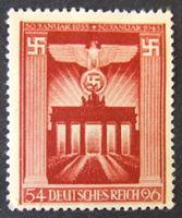 Image de Германия 3-й рейх 1943 г. Mi# 829 • 10 лет со дня прихода к власти фюрера • MLH OG XF ( кат.- €3,5 )