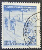 Image de ГДР 1953 г. Mi# 356 • Международная велогонка мира • Used XF ( кат.- €3 )