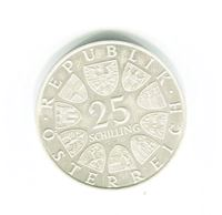 Bild von Австрия 1970 г. KM# 2907 • 25 шиллингов • памятный выпуск • UNC