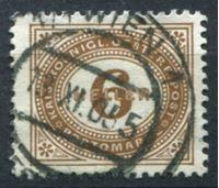 Изображение Австрия 1890-1900 гг. SC# J27 • 6h. • служебный выпуск • Used XF