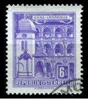 Изображение Австрия 1957-61 гг. SC# 629 • 6s. • Виды страны, город Грац • Used XF