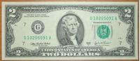 Bild von США 2009 г. (2009)  • 2 доллара США • UNC-