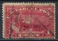 Изображение США 1913 г. SC# Q1 • 1c. • почтовый клерк за работой • спец. доставка • Used F ( кат.- $2 )