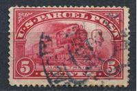 Изображение США 1913 г. SC# Q5 • 5c. • паровоз • спец. доставка • Used VF+ ( кат.- $3 )