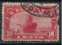 Изображение США 1913 г. SC# Q6 • 10c. • пароход и почтовый тендер • спец. доставка • Used VG ( кат.- $4 )