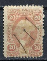 Image de США 1862-71 гг. SC# R42c • 20c. • для товарообменных операций • фискальный выпуск • Used VF