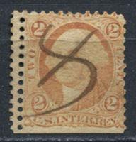 Image de США 1862-71 гг. SC# R15c • 2c. • для налога с выручки (двойная перфорация!) • фискальный выпуск • Used F