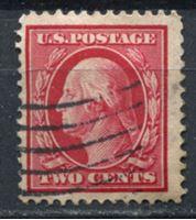 Picture of США 1910-11 гг. SC# 375 • 2c. • Джордж Вашингтон • стандарт • Used VF