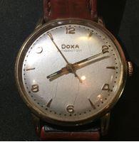 Image de Doxa ( Швейцария )  • Мужские золотые часы. Модель Антимагнетик. 585 проба • 196х-7х гг. • F
