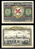 Picture of Германия •  Наумбург 1921 г. • 75 пфеннигов • герб города • локальный выпуск • UNC пресс