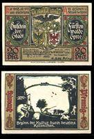 Изображение Германия •  Фюрстенвальде 1921 г. • 20 пфеннигов • герб города • локальный выпуск • UNC пресс