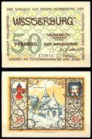 Picture of Германия •  Вестербург 1920 г. • 50 пфеннигов • городской собор • локальный выпуск • UNC пресс