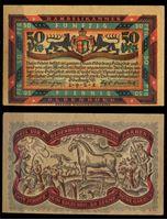 Picture of Германия •  Ольденбург 1921 г. • 50 пфеннигов • лошади на пастбище • локальный выпуск • UNC пресс