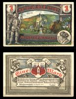 Picture of Германия •  Мюнстермайфельд 1921 г. • 1 марка • старинный замок • локальный выпуск • UNC пресс