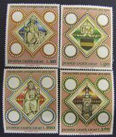 Image de Ватикан 1973 г. Mi# 625-628 • 1000 лет латинскому аббатству в Праге • MNH OG XF+