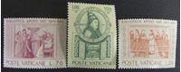 Image de Ватикан 1975 г. Mi# 667-669 • 500 лет библиотеке в Ватикане • MNH OG XF+